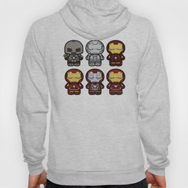 Chibi-Fi Iron Man Movie Armory Hoody