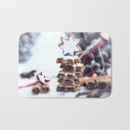 Christmas bakery Bath Mat