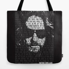 """""""Sometime's There's a Man"""" art print Tote Bag"""