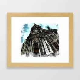 Saint George Church in Locorotondo (Italy) Framed Art Print