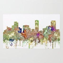 Denver, Colorado Skyline SG - Faded Glory Rug