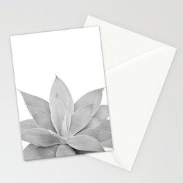 Gray Agave #1 #tropical #decor #art #society6 Stationery Cards