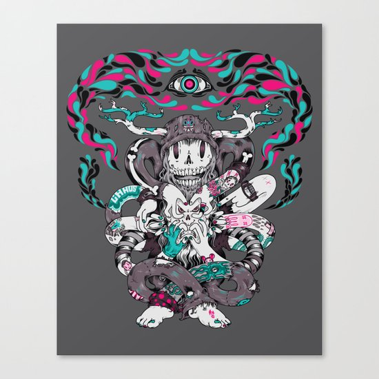 Chaos Theory Canvas Print