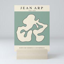 Modern poster - Jean Hans Arp - Exposition 1. Mini Art Print