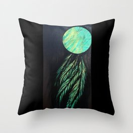 Catching Northern Lights Throw Pillow