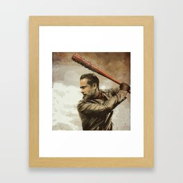 Negan Framed Art Print