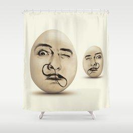DALI #EGGS Shower Curtain