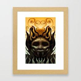 Hothead Framed Art Print