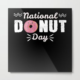 Donut Day Metal Print