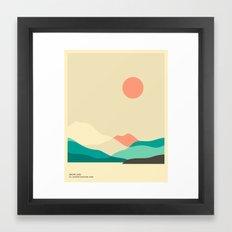 MT. RAINIER NATIONAL PARK, SNOW LAKE  Framed Art Print