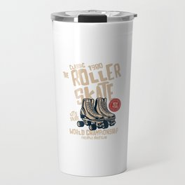 The Classic 1980 Roller Skate - Vintage Roller Skate Travel Mug