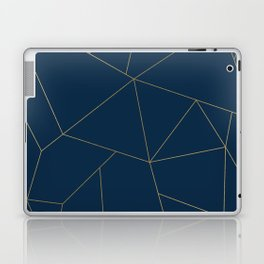 Golden Crystal Web Pattern Laptop & iPad Skin