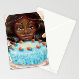 Mmmm Cake Stationery Cards