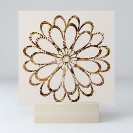 Floral Design Ornament Mini Art Print