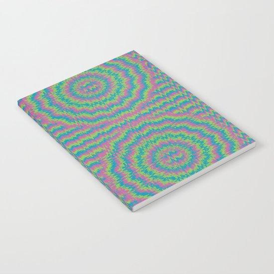 Psychedelic Mandala Notebook