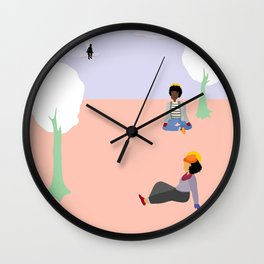 depression visits often in winter Wall Clock