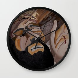 Paid The Price Wall Clock