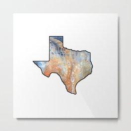 Texas Wildfire logo Metal Print