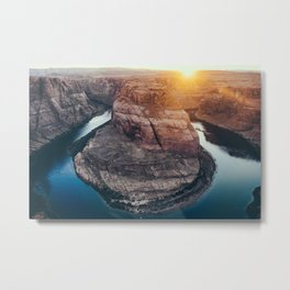 Horseshoe Bend Metal Print