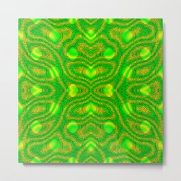 Hope-and-reality-pattern Metal Print