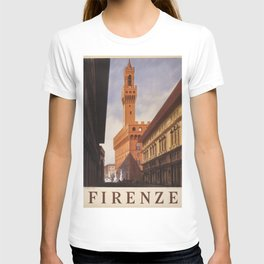 Vintage poster - Firenze, Italy T-shirt