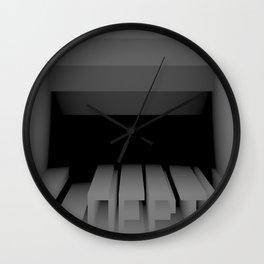 3D Z-DEPTH Wall Clock