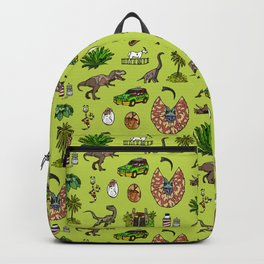Jurassic pattern lighter Backpack