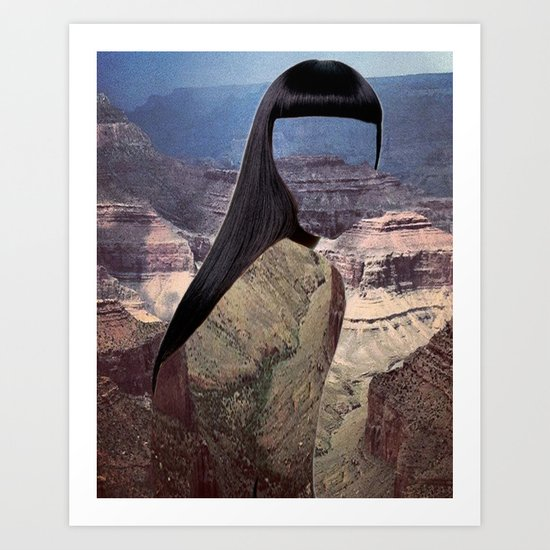 Haircut 8 Art Print