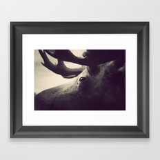 Get Stuffed Framed Art Print
