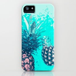 Pineapple Float iPhone Case