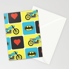 The Bike & The Bat Stationery Cards