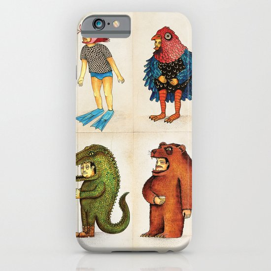 Costumes - Animalados iPhone & iPod Case