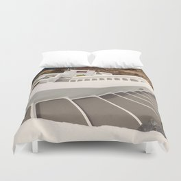 Pathway to the Sea Duvet Cover