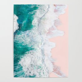 Pink Sand Beach Poster