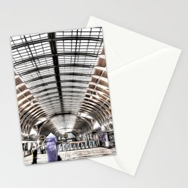 Paddington Station London Art Stationery Cards