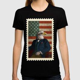 Official Portrait of Senator Silas Eagle T-shirt