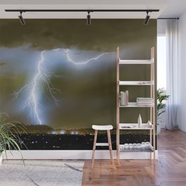Into the Arizona Monsoon Evening Wall Mural