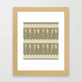 aztec arrows Framed Art Print