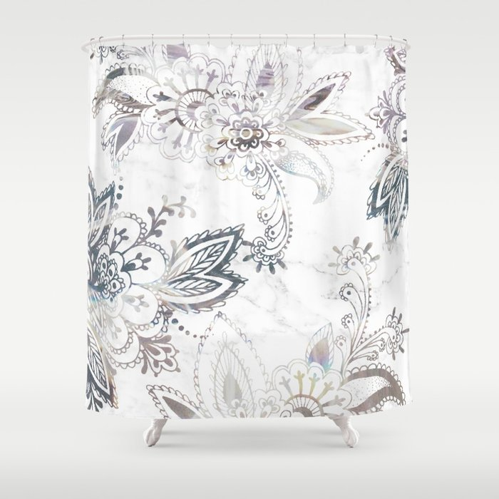 Dreamy Paisley Shower Curtain
