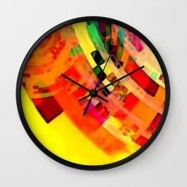 Playa del Carmen Sun No.1 Wall Clock