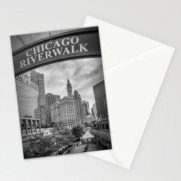 CHICAGO Riverwalk | Monochrome Stationery Cards