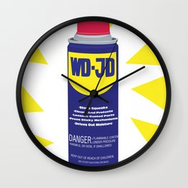 WDJD Stops Sqeaks Wall Clock