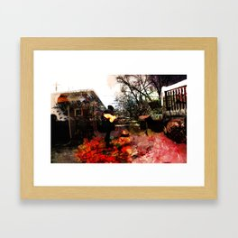 Inflamed Framed Art Print