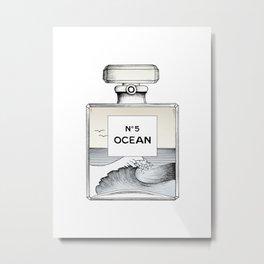 Ocean No5 Metal Print