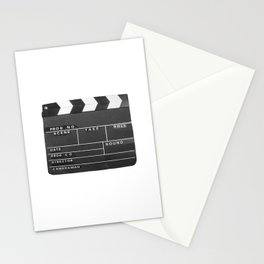 Film Movie Video production Clapper board Stationery Cards