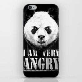 angry iPhone Skin