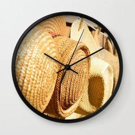 hats Wall Clock
