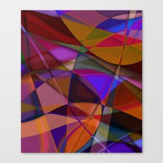 Abstract #376 Canvas Print