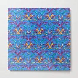 Tribal Pattern 3 Metal Print