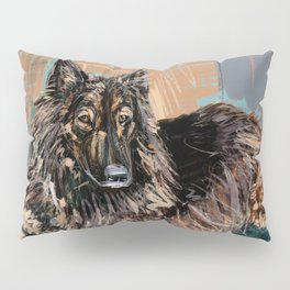 Jessie the Belgian Tervuren Dog Pillow Sham